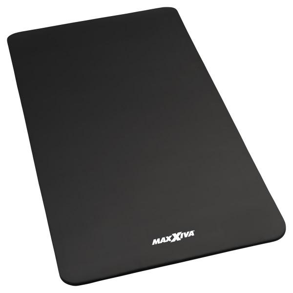 MAXXIVA Gymnastikmatte Fitnessmatte 190x100x1,5 cm schwarz schadstofffrei Yoga