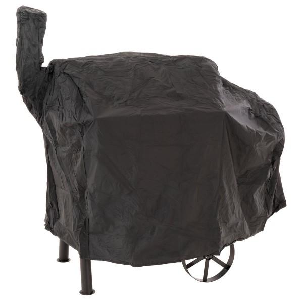 Schutzhülle für Smoker Abdeckung Wetterschutz Plane Grillhaube 120g PVC 130 x 60 cm