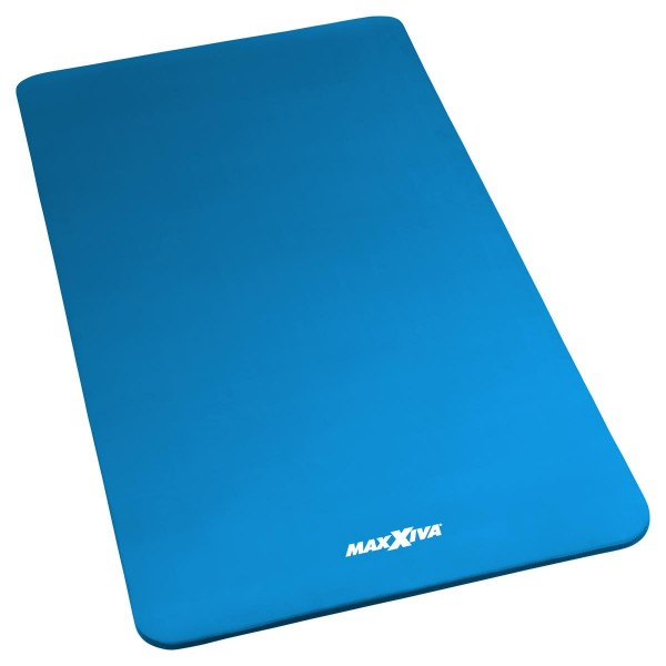 MAXXIVA Yogamatte Gymnastikmatte Fitnessmatte 190x100x1,5 cm blau schadstofffrei