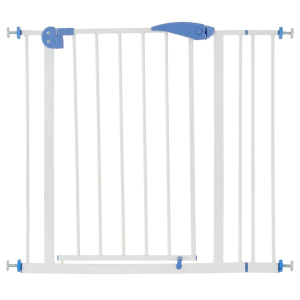 Türschutzgitter Absperr-Gitter weiß 78,5 cm hoch Treppenschutzgitter Treppengitter