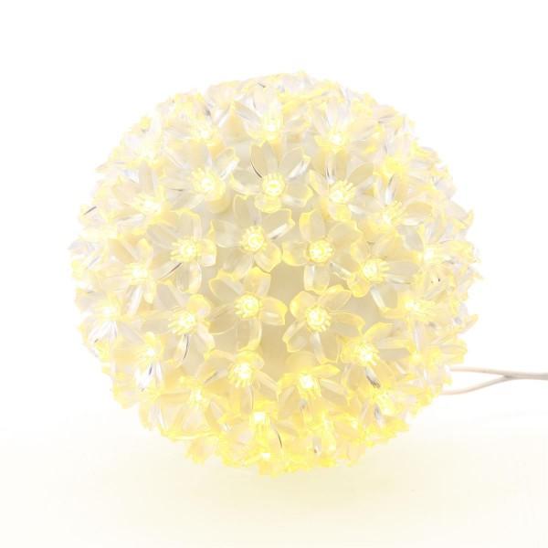 100er LED Lichterball warm weiß Ø 15 cm Lichterkugel Leuchtball Weihnachten Xmas