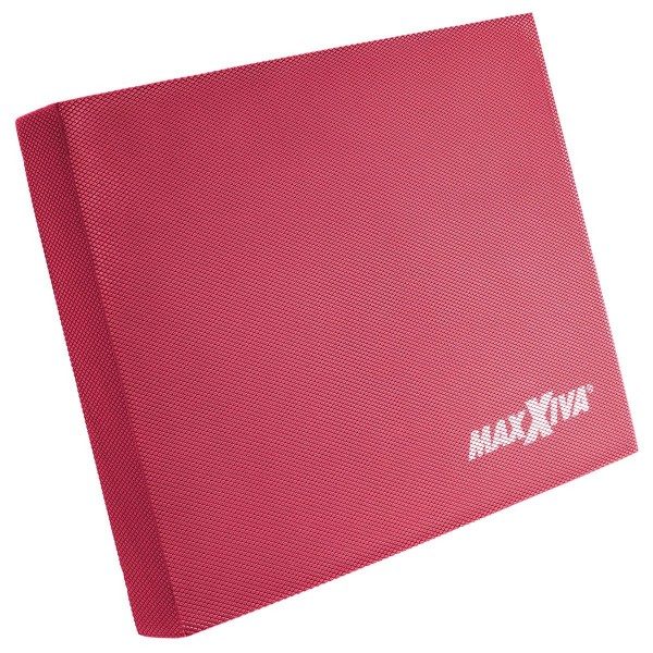MAXXIVA Balancepad rot Sport Fitness 50x40x6 cm Balancekissen Pilates