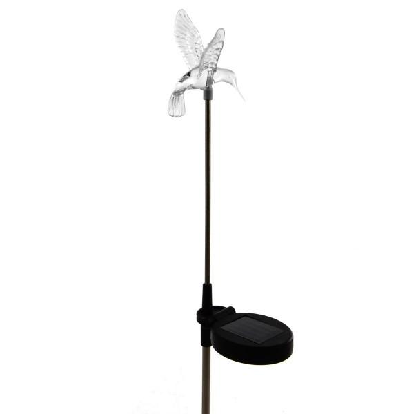 LED SOLAR Erdspieß Gartenlicht Wegbeleuchtung Kolibri