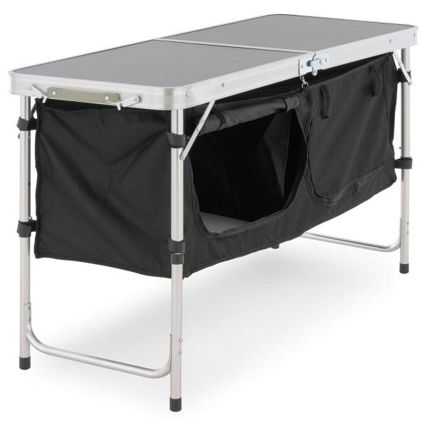 Campingschrank Camping Tisch Alu höhenverstellbar faltbar klappbar