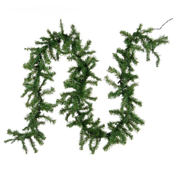 Weihnachtsgirlande mit 35er Mini Lichterkette Weihnachtsbeleuchtung 2,7 m XMAS