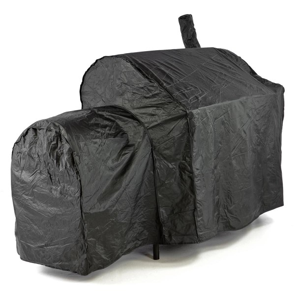 Schutzhülle Smoker Abdeckung Wetterschutz Plane Cover 120g/PVC schwarz 150x72 cm