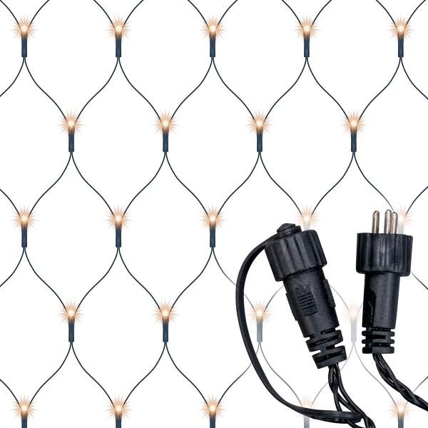 diLED 100er LED Lichternetz warmweiß erweiterbar Lichterkette System LED XMAS