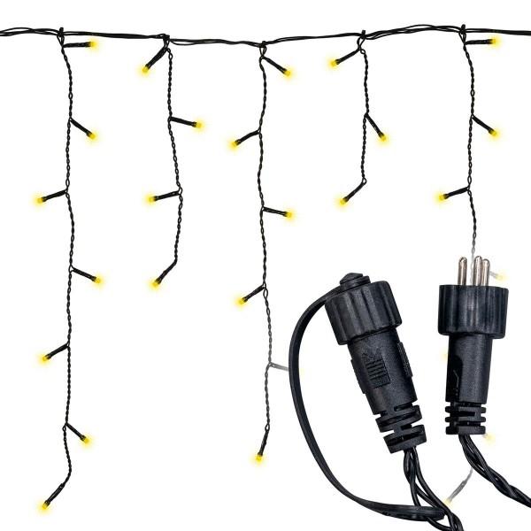diLED 80er LED Lichterregen warmweiß erweiterbar Lichterkette System LED XMAS