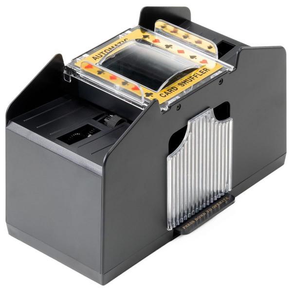 Poker Kartenmischer elektrische Kartenmischmaschine 4 Decks batteriebetrieben