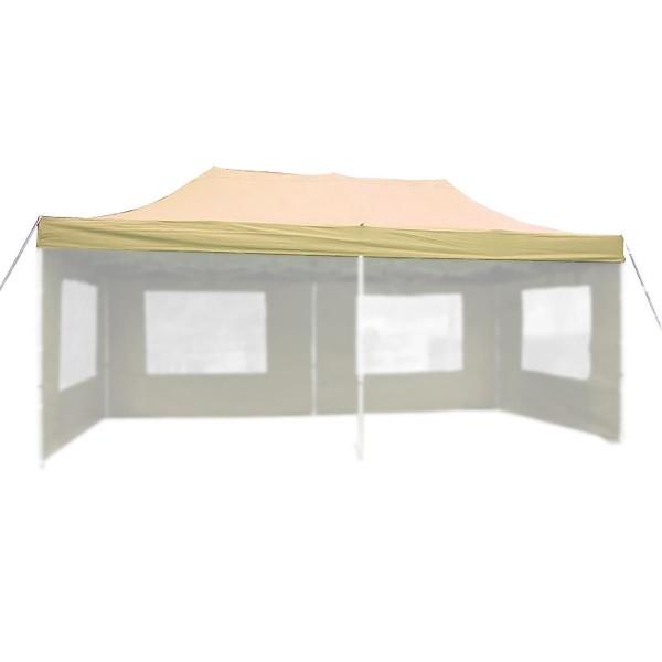 Ersatzdach für PROFI Falt Pavillon 3x6m champagner wasserdicht Dachplane
