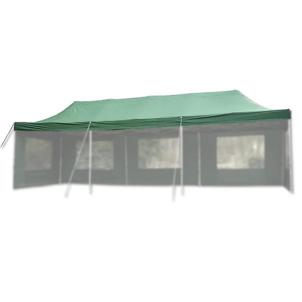 Ersatzdach für PROFI Falt Pavillon 3x9m grün wasserdicht Dachplane Pavillondach