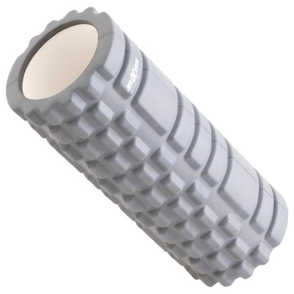 MAXXIVA Massagerolle grau 33x14 cm Faszienrolle Trainings-Rolle Fitness