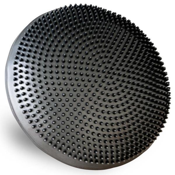 MAXXIVA Ballsitzkissen schwarz 33 cm mit Pumpe Luft-Kissen mit Noppen Fitness