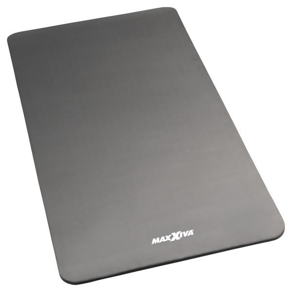 MAXXIVA Yogamatte grau Gymnastikmatte Fitnessmatte 190x100x1,5 cm extragroß